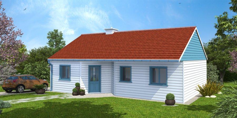 Maison ossature bois nord pas de calais picardie longfoss for Maison bois nord pas de calais