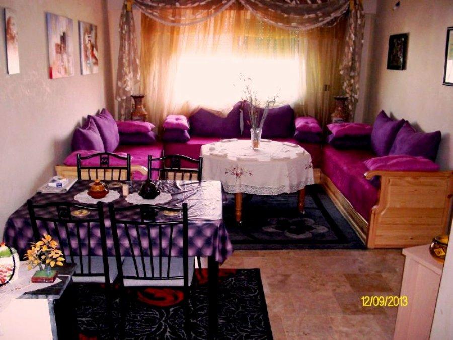 appartement meuble a louer au centre ville el jadida